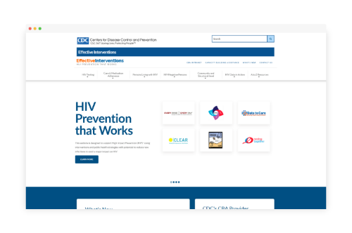 CDC Interventions