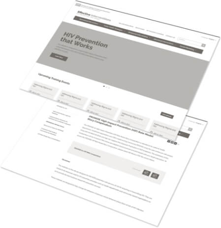 CDC Interventions website